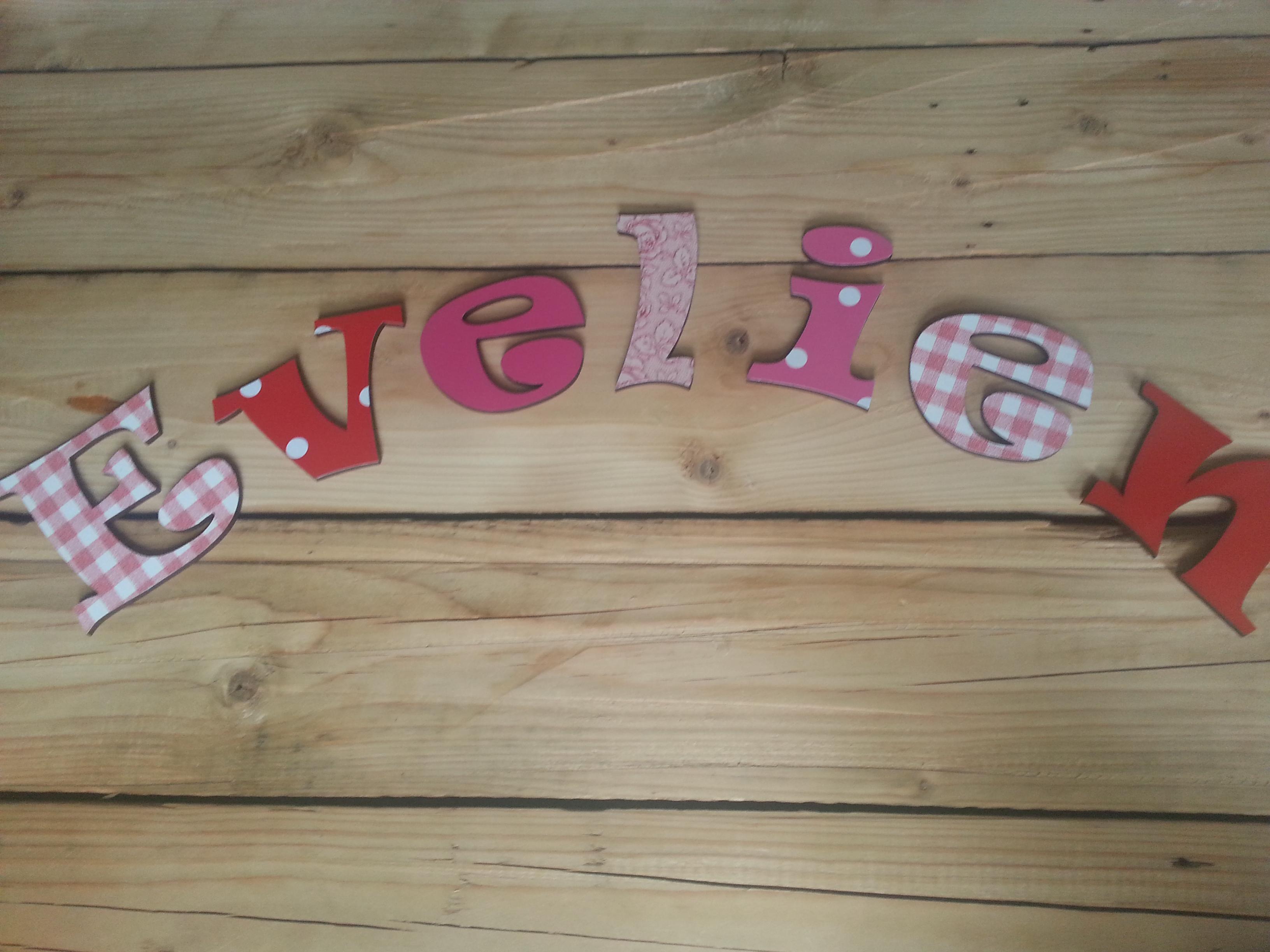 Letters folie