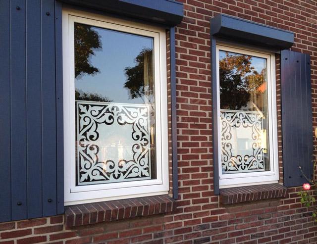 Houtenlabel paneel voor raam of wand of andere for Houten decoratie voor raam