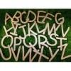 Houten letters van Triplex of MDF