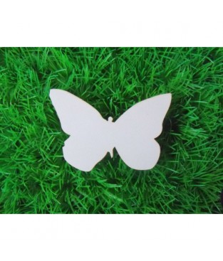 Vlinder-figuur  met gravure 2x