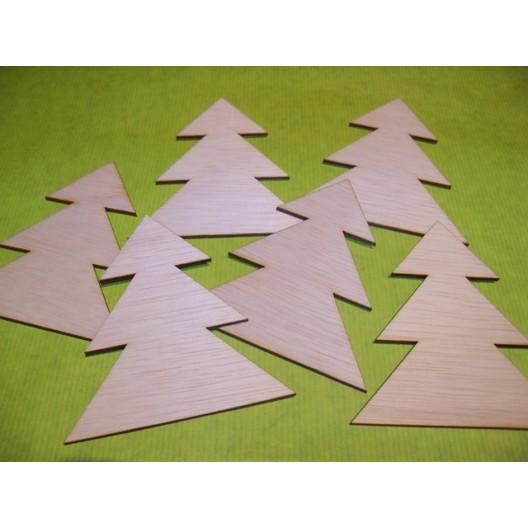 Houten Kerstfiguur Kerstboom