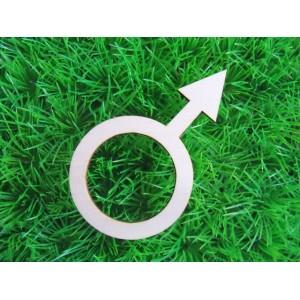 houten-mannelijk-teken