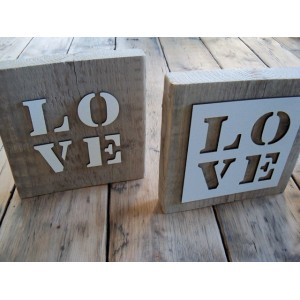 steigerplank-met-mal-of-letters-love