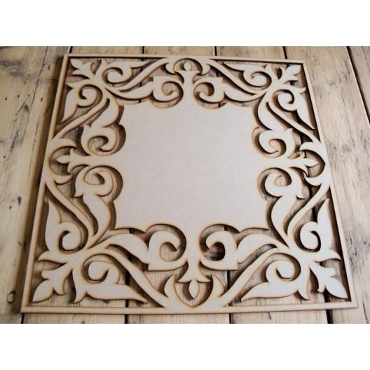 Paneel Voor Raam Of Wand Decoratie Midden Dicht