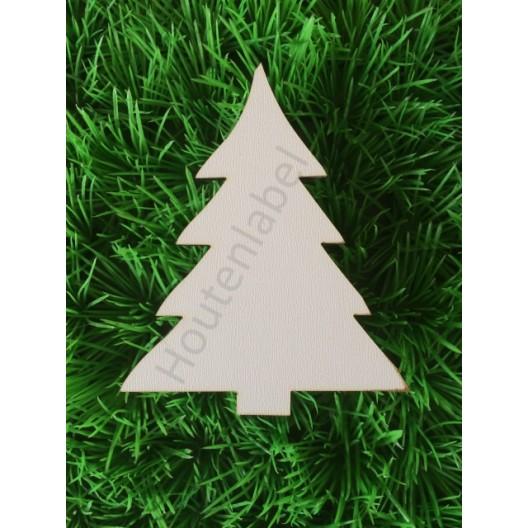 Houten kerstboom figuur 2