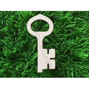 Houten sleutel figuur klassiek