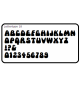 Lettertype 18