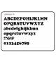Lettertype 16