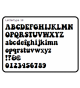 Lettertype 19