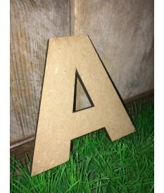 MDF letters 6 mm. dikte