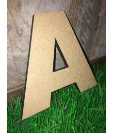 MDF letters 8 mm. dikte