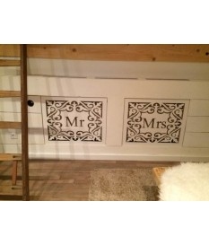 Panelen set Mr & Mrs