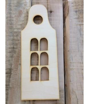 Grachtenhuisje klokgevel-model2