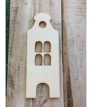 Grachtenhuisje klokgevel-model1