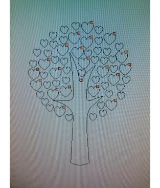 Hartjesboom op maat