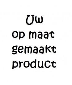 Labels creo en deco met tekst en logo 2.5x4 - 200 stuks