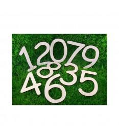 de cijfers 12345678 - 6x