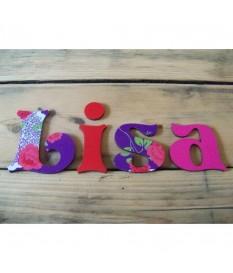 Deco letters Chloë