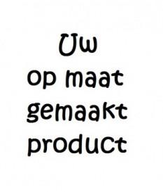 Tekstborden op steigerhout ,  3 stuks - 20 cm. x 30 cm