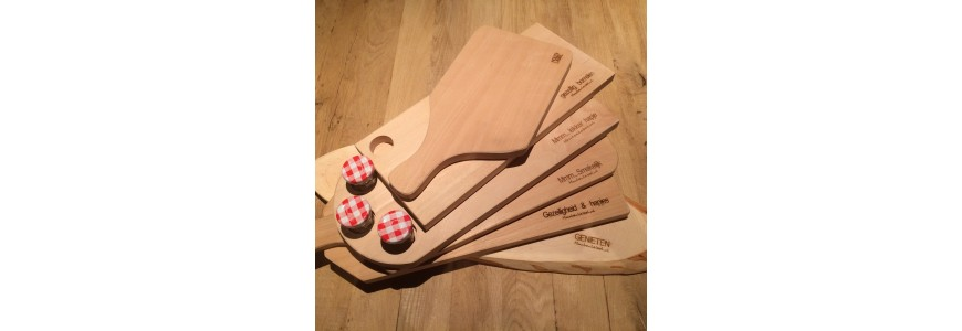 Houten broodplank-borrelplank